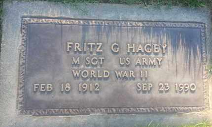 HAGEY, FRITZ - Los Angeles County, California | FRITZ HAGEY - California Gravestone Photos