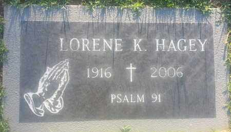 HAGEY, LORENE - Los Angeles County, California | LORENE HAGEY - California Gravestone Photos