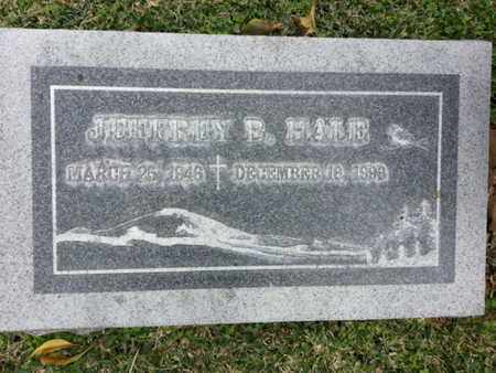HALE, JEFFREY B. - Los Angeles County, California | JEFFREY B. HALE - California Gravestone Photos