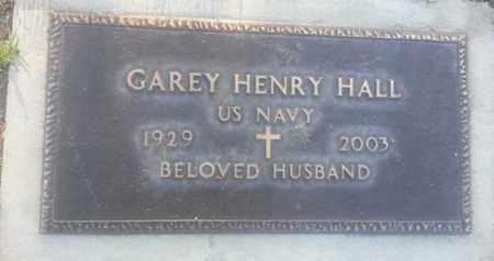HALL, GAREY - Los Angeles County, California | GAREY HALL - California Gravestone Photos