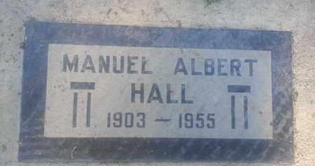 HALL, MANUEL - Los Angeles County, California | MANUEL HALL - California Gravestone Photos
