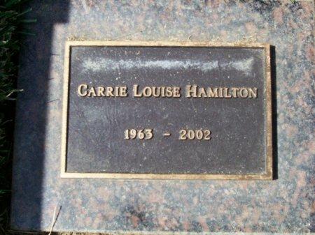 HAMILTON, CARRIE LOUISE - Los Angeles County, California | CARRIE LOUISE HAMILTON - California Gravestone Photos