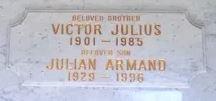 HAMMER, VICTOR JULIUS - Los Angeles County, California | VICTOR JULIUS HAMMER - California Gravestone Photos