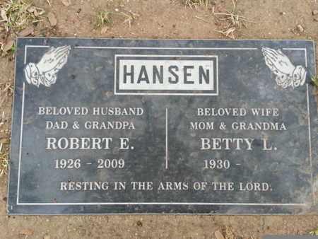 HANSEN, ROBERT E. - Los Angeles County, California | ROBERT E. HANSEN - California Gravestone Photos