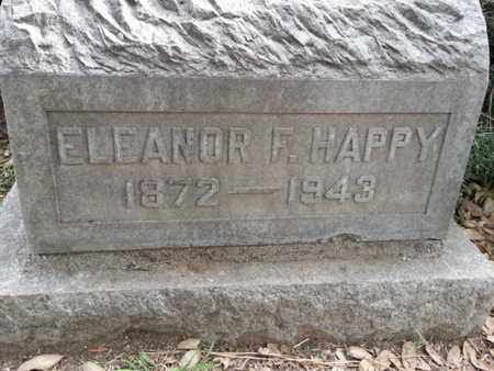 HAPPY, ELEANOR F. - Los Angeles County, California   ELEANOR F. HAPPY - California Gravestone Photos