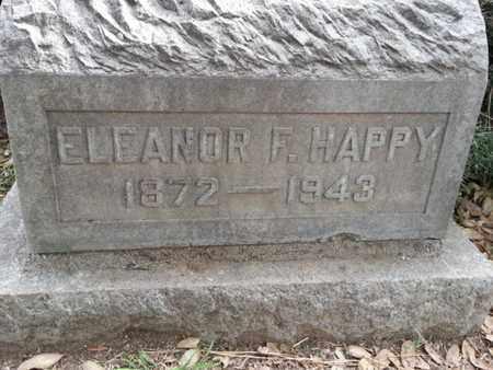 HAPPY, ELEANOR F. - Los Angeles County, California | ELEANOR F. HAPPY - California Gravestone Photos