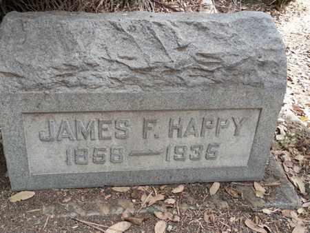 HAPPY, JAMES F. - Los Angeles County, California   JAMES F. HAPPY - California Gravestone Photos