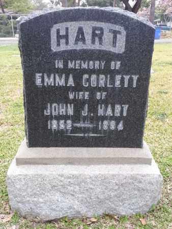 CORLETT HART, EMMA - Los Angeles County, California | EMMA CORLETT HART - California Gravestone Photos