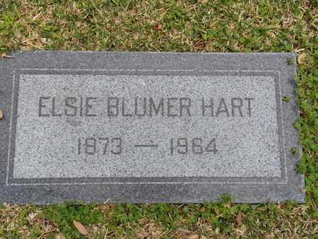 BLUMER HART, ELSIE - Los Angeles County, California | ELSIE BLUMER HART - California Gravestone Photos