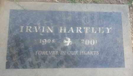 HARTLEY, IRVIN - Los Angeles County, California | IRVIN HARTLEY - California Gravestone Photos