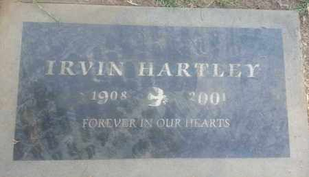 HARTLEY, IRVIN - Los Angeles County, California | IRVIN HARTLEY - California Gravestone Photos