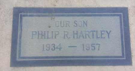 HARTLEY, PHILIP - Los Angeles County, California   PHILIP HARTLEY - California Gravestone Photos