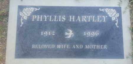 HARTLEY, PHYLLIS - Los Angeles County, California | PHYLLIS HARTLEY - California Gravestone Photos