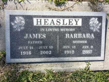 HEASLEY, JAMES - Los Angeles County, California | JAMES HEASLEY - California Gravestone Photos