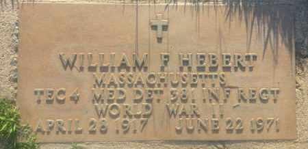 HEBERT, WILLIAM - Los Angeles County, California | WILLIAM HEBERT - California Gravestone Photos