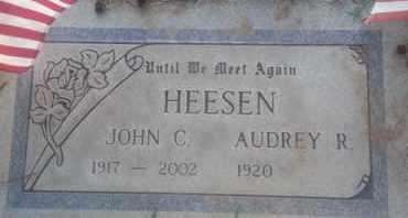 HEESEN, AUDREY - Los Angeles County, California   AUDREY HEESEN - California Gravestone Photos
