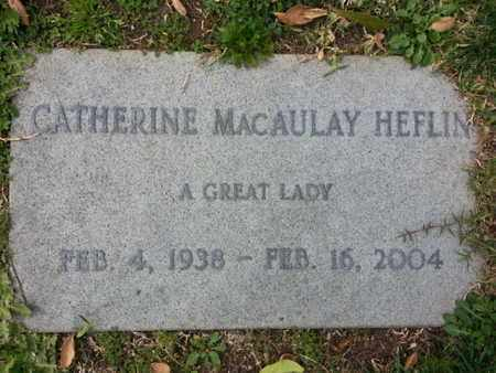 HEFLIN, CATHERINE - Los Angeles County, California | CATHERINE HEFLIN - California Gravestone Photos