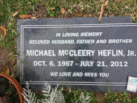 HEFLIN JR., MICHAEL M. - Los Angeles County, California | MICHAEL M. HEFLIN JR. - California Gravestone Photos