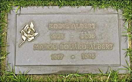 BOLADO ALBERT, MARGO - Los Angeles County, California | MARGO BOLADO ALBERT - California Gravestone Photos