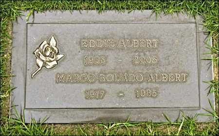 ALBERT, EDDIE - Los Angeles County, California | EDDIE ALBERT - California Gravestone Photos
