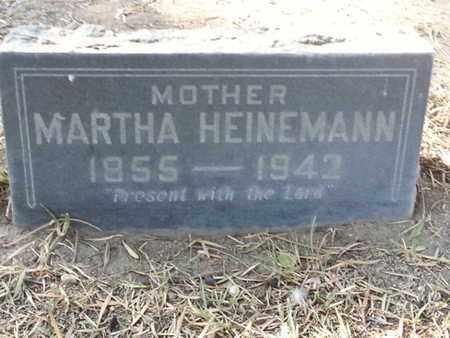 HEINEMANN, MARTHA - Los Angeles County, California | MARTHA HEINEMANN - California Gravestone Photos