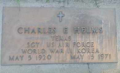 HELMS, CHARLES - Los Angeles County, California | CHARLES HELMS - California Gravestone Photos