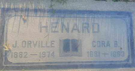 HENARD, CORA - Los Angeles County, California | CORA HENARD - California Gravestone Photos