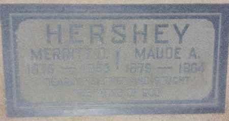 HERSHEY, MAUDE - Los Angeles County, California | MAUDE HERSHEY - California Gravestone Photos