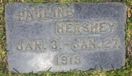 HERSHEY, PAULINE - Los Angeles County, California | PAULINE HERSHEY - California Gravestone Photos
