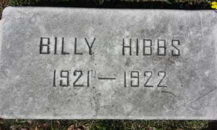 HIBBS, BILLY - Los Angeles County, California   BILLY HIBBS - California Gravestone Photos