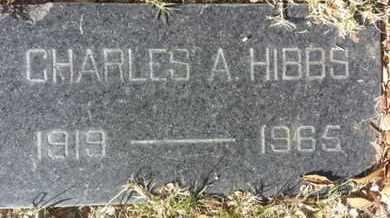 HIBBS, CHARLES A. - Los Angeles County, California   CHARLES A. HIBBS - California Gravestone Photos