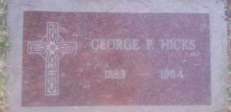 HICKS, GEORGE - Los Angeles County, California   GEORGE HICKS - California Gravestone Photos