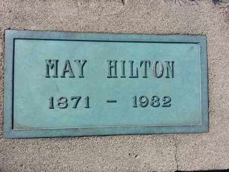 HILTON, MAY - Los Angeles County, California   MAY HILTON - California Gravestone Photos