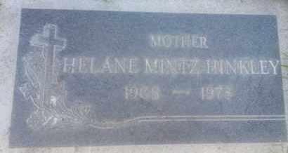 HINKLEY, HELANE - Los Angeles County, California | HELANE HINKLEY - California Gravestone Photos