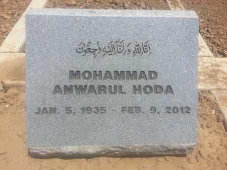 HODA, MOHAMMAD - Los Angeles County, California | MOHAMMAD HODA - California Gravestone Photos