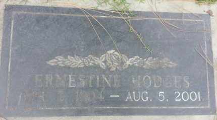 HODGES, ERNESTINE - Los Angeles County, California | ERNESTINE HODGES - California Gravestone Photos