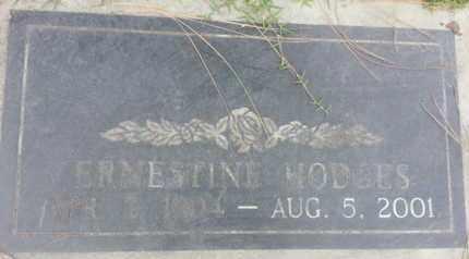 HODGES, ERNESTINE - Los Angeles County, California | ERNESTINE HODGES - California Gravestone Photos