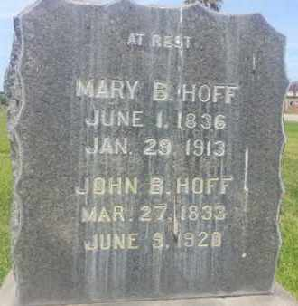 HOFF, MARY - Los Angeles County, California | MARY HOFF - California Gravestone Photos
