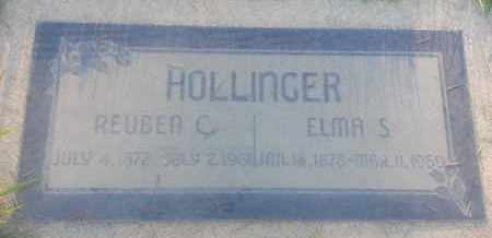 HOLLINGER, ELMA - Los Angeles County, California   ELMA HOLLINGER - California Gravestone Photos