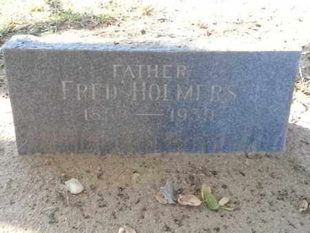 HOLMERS, FRED - Los Angeles County, California | FRED HOLMERS - California Gravestone Photos