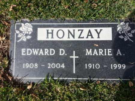 HONZAY, MARIE A. - Los Angeles County, California | MARIE A. HONZAY - California Gravestone Photos
