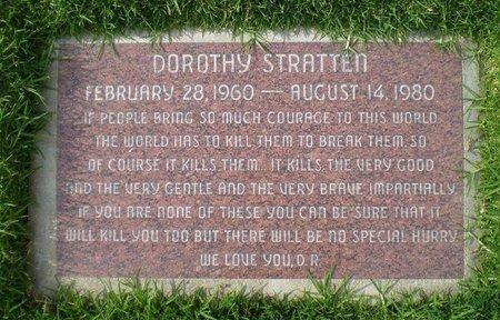 STRATTEN, DOROTHY - Los Angeles County, California | DOROTHY STRATTEN - California Gravestone Photos