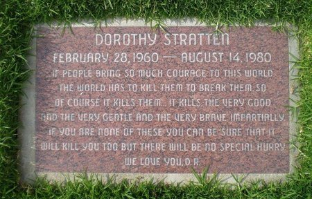 STRATTEN, DOROTHY  [ACTOR] - Los Angeles County, California | DOROTHY  [ACTOR] STRATTEN - California Gravestone Photos