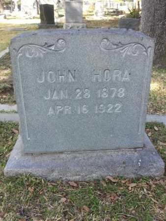 HORA, JOHN - Los Angeles County, California | JOHN HORA - California Gravestone Photos