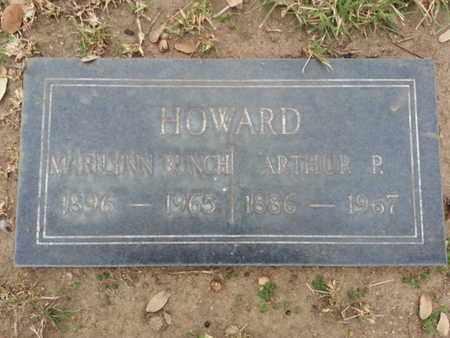 BUNCH HOWARD, MARILYNN - Los Angeles County, California | MARILYNN BUNCH HOWARD - California Gravestone Photos