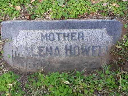 HOWELL, MALENA - Los Angeles County, California | MALENA HOWELL - California Gravestone Photos