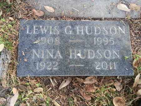 HUDSON, LEWIS G. - Los Angeles County, California   LEWIS G. HUDSON - California Gravestone Photos