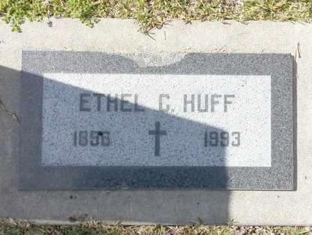 HUFF, ETHEL C. - Los Angeles County, California | ETHEL C. HUFF - California Gravestone Photos