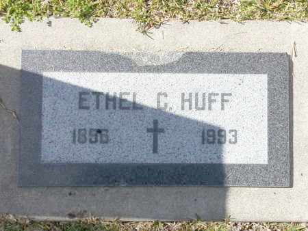 HUFF, ETHEL C. - Los Angeles County, California | ETHEL C. HUFF - California Gravestone Photos