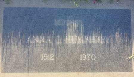 HUMPHREY, ANNA - Los Angeles County, California | ANNA HUMPHREY - California Gravestone Photos